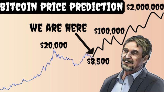 mcafee btc prediction